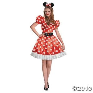 adult disney minnie mouse costume M